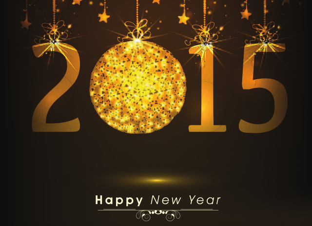 2015 New Year Baubles